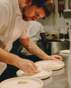 Cian Curtin Busy on the pass