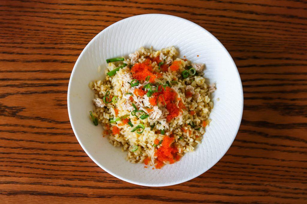 Crab fried rice at Lotus The Galeries